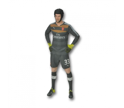 Arsenal LARGE 3D PETR CECH FIGURINE