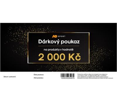 DÁRKOVÝ POUKAZ NA 2 000 Kč