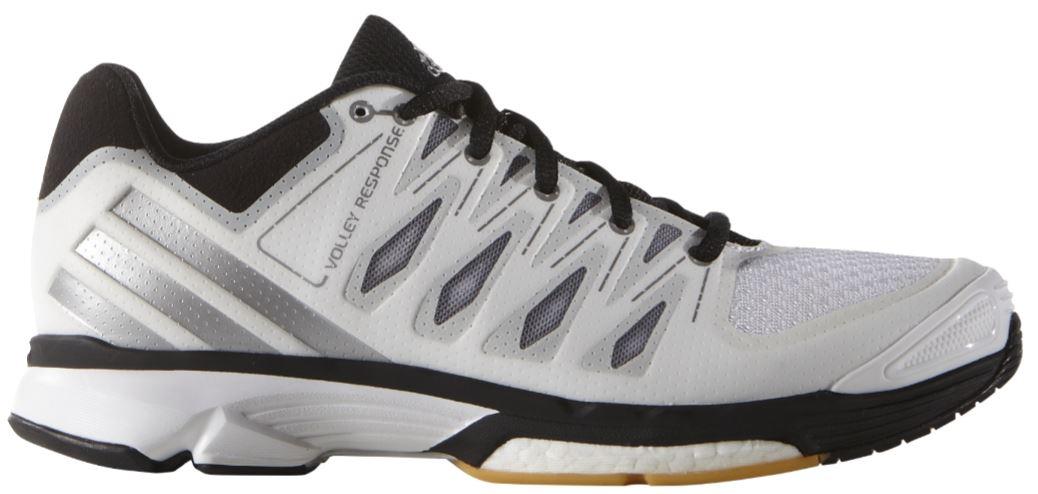 Dámské volejbalové boty adidas VOLLEY RESPONSE 2 BOOST W bílé  55e29015808