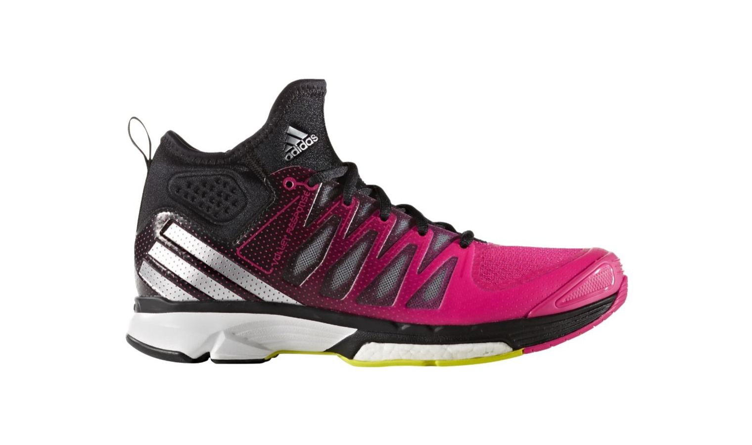 Dámské volejbalové boty adidas VOLLEY RESPONSE BOOST 2 MID W  f5df67f22b6