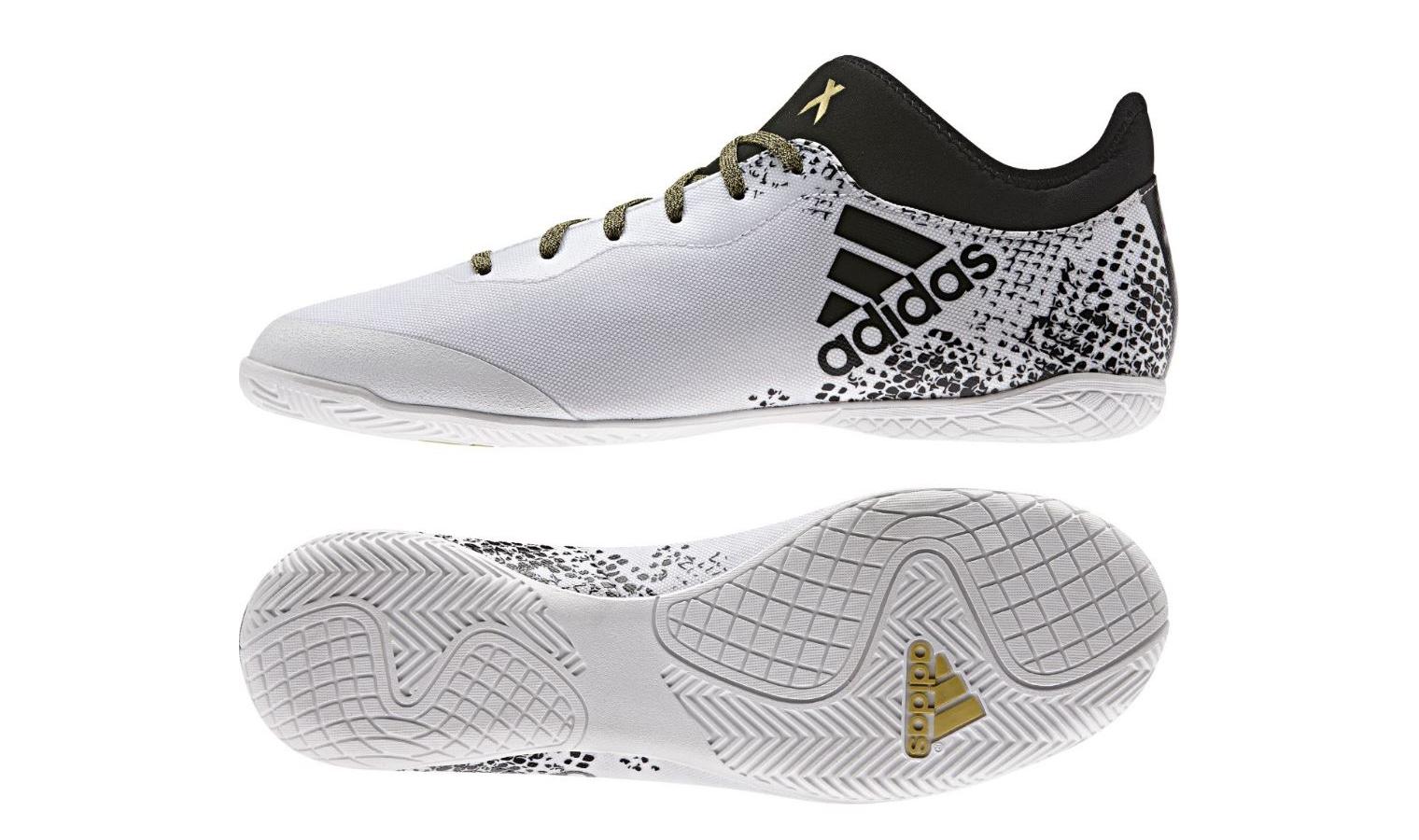 Pánské sálovky adidas X 16.3 COURT bílé  0130e2e159