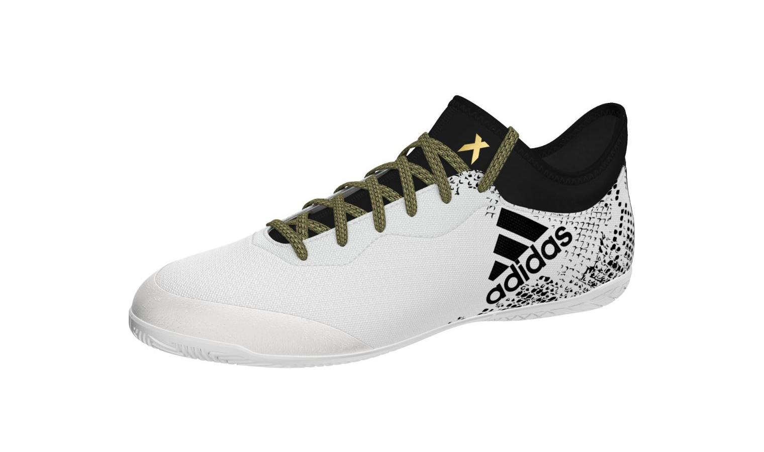 ad551606d2a Pánské sálovky adidas X 16.3 COURT bílé
