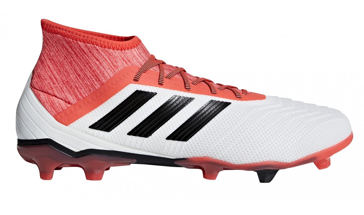 separation shoes 227a5 a4c48 ... Kopačky lisovky adidas PREDATOR 18.2 FG bílé. 0 Kč Sleva