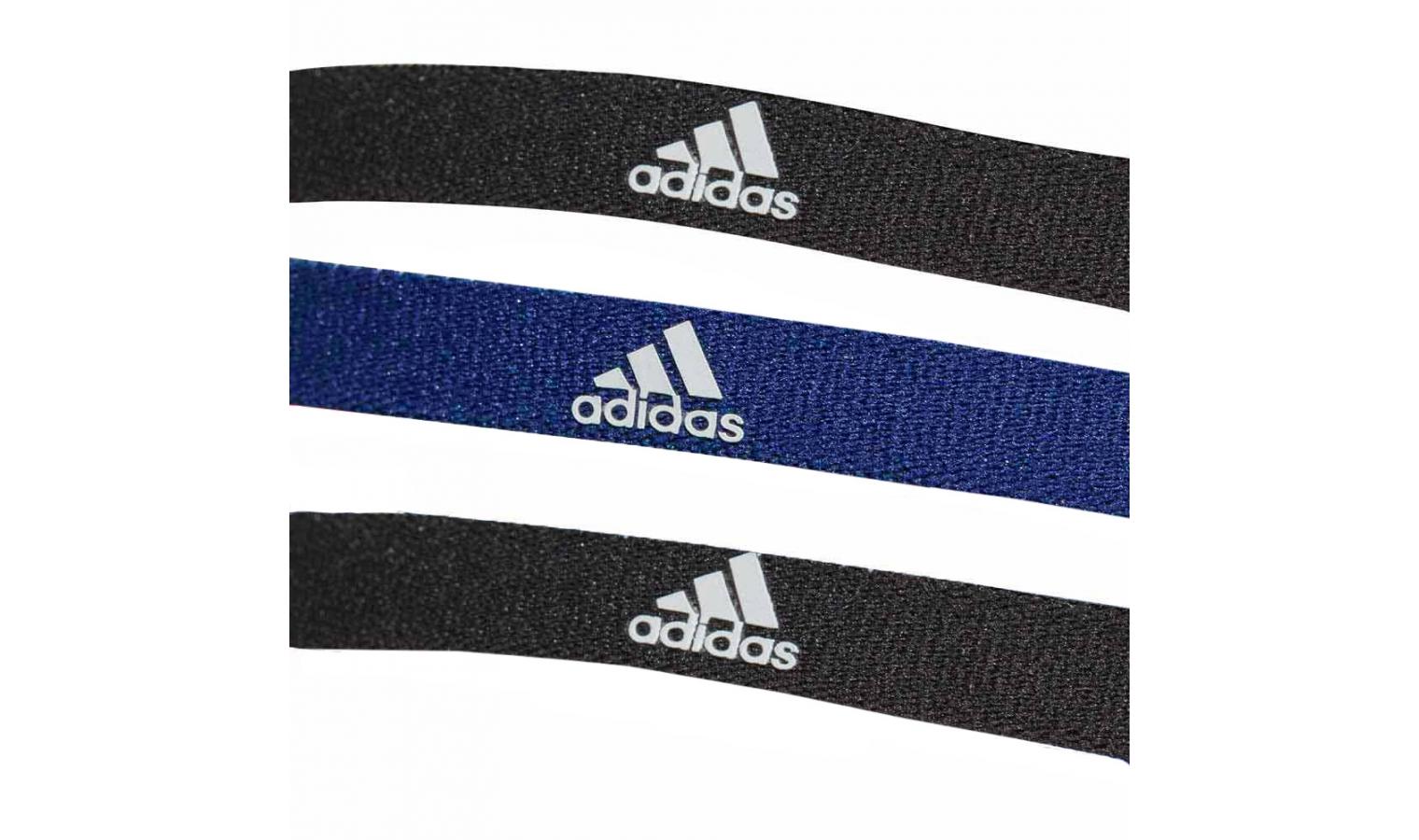 ef93df98d90 Dámská čelenka adidas 3PP HAIRBAND modrá