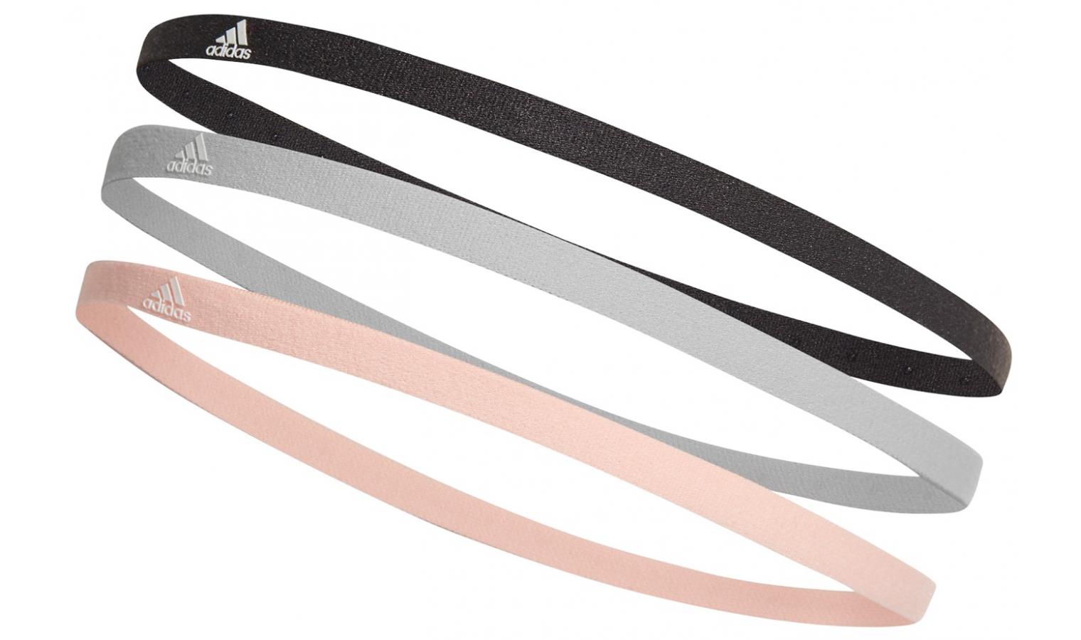 a4d7ad58bc7 Čelenka adidas 3PP HAIRBAND černá šedá růžová