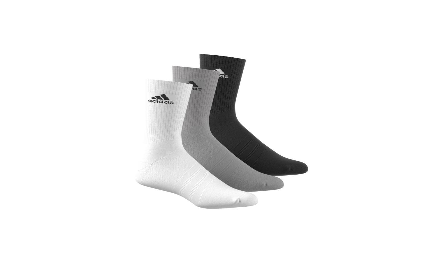 Ponožky adidas 3S PER CR HC 3P barevné  d0fd4b22ef