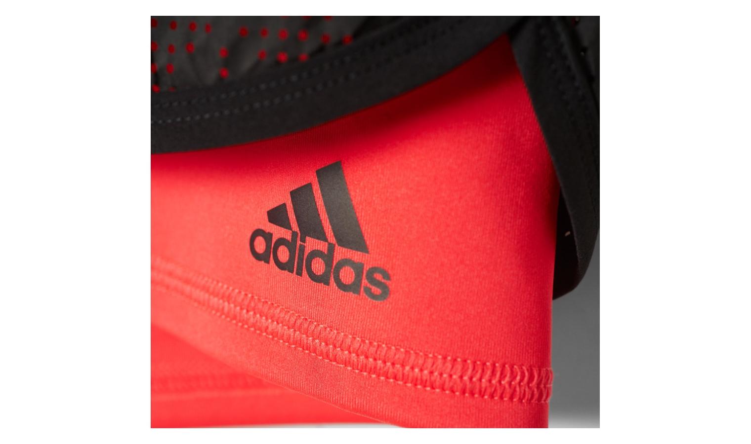 e44b305d66a Dámské sportovní kraťasy adidas GYM 2 IN 1 SHORT černé   červené ...