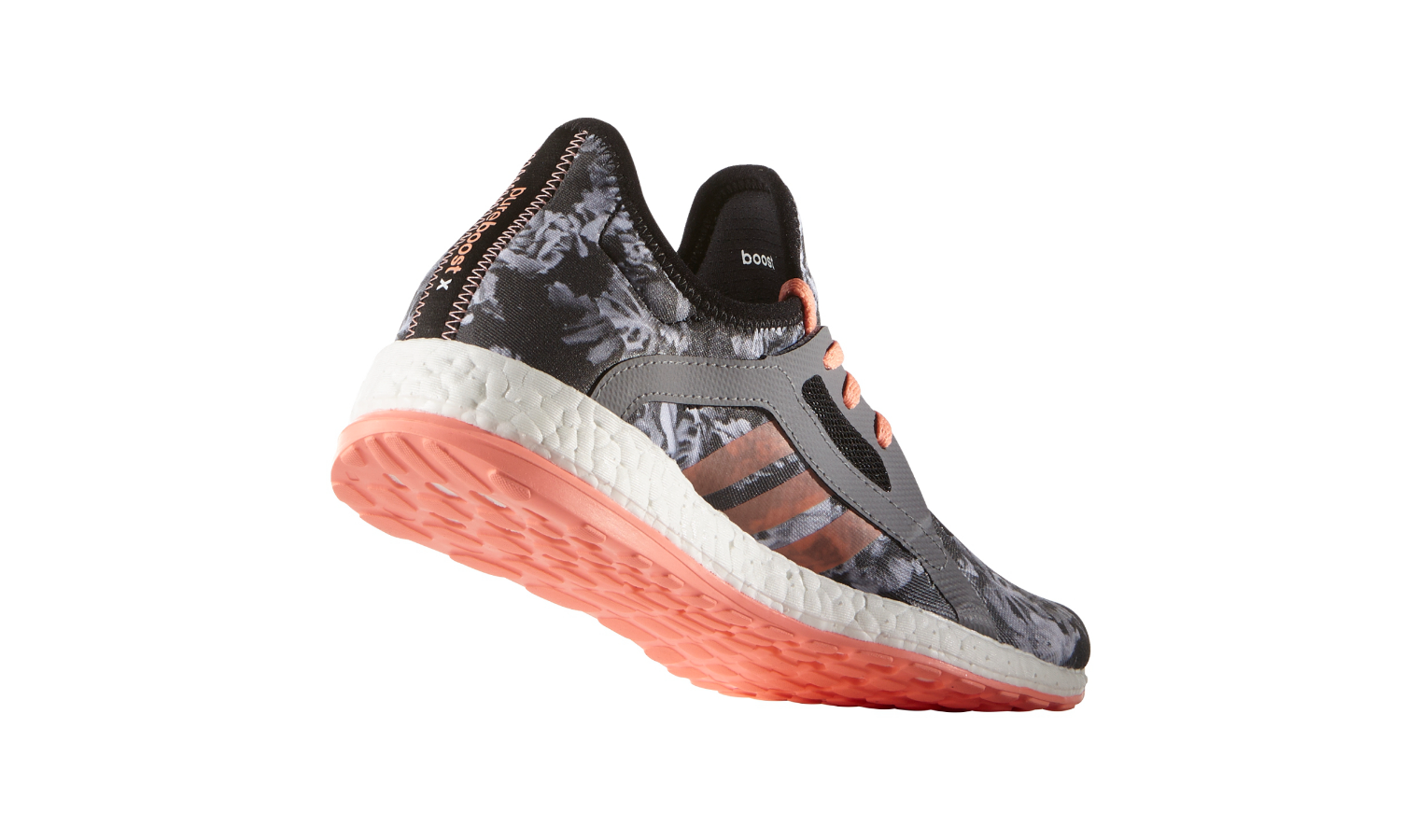 25014b2b41e Dámské běžecké boty adidas PURE BOOST X šedé