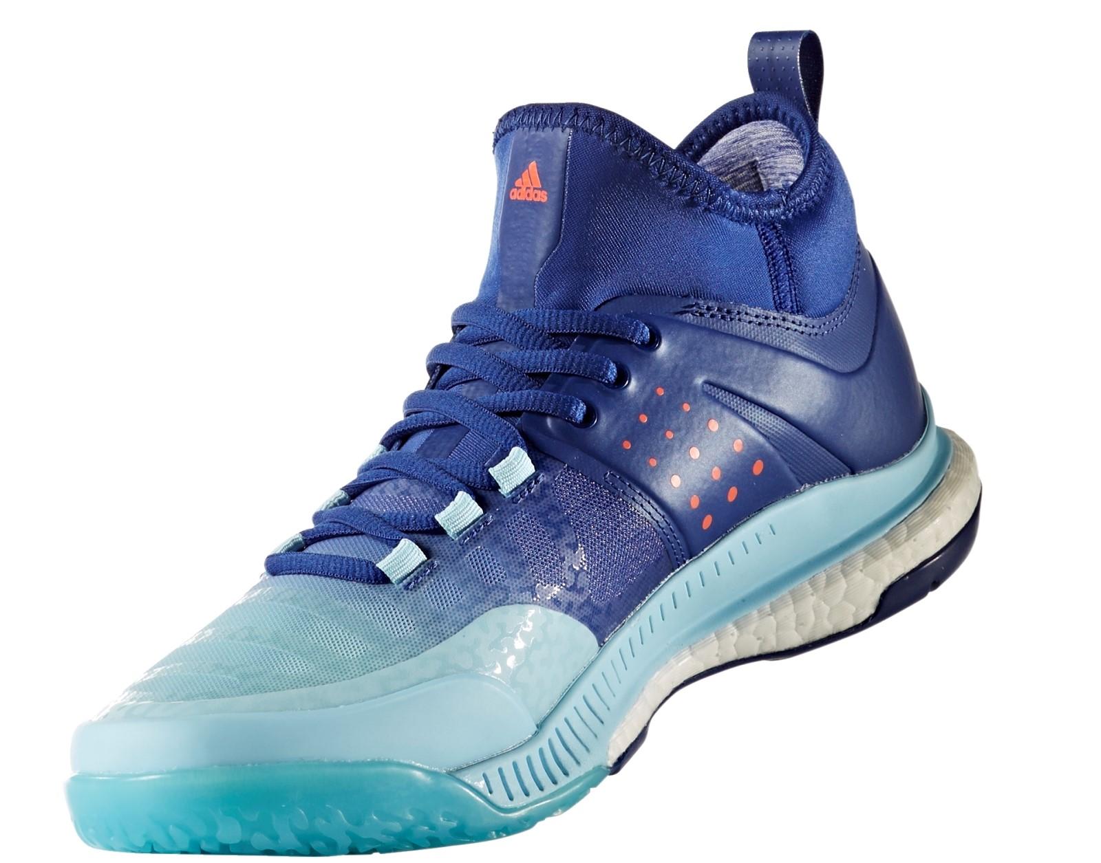 4b1fa4a4bf7 Dámské volejbalové boty adidas CRAZYFLIGHT X MID W modré