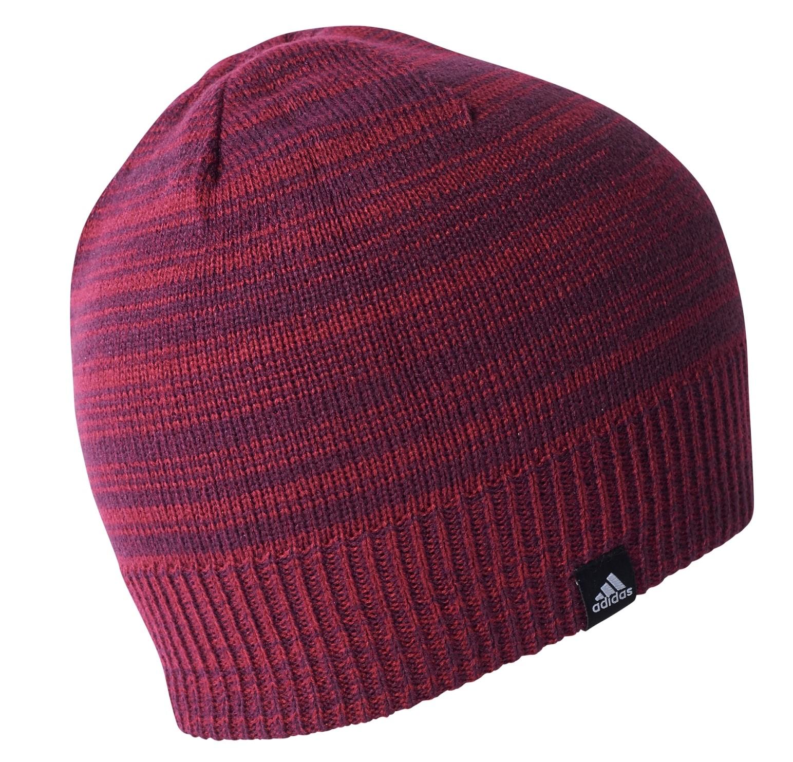 326fdecd351 ... Dámská čepice adidas W CL BEANIE REV červená. Sleva