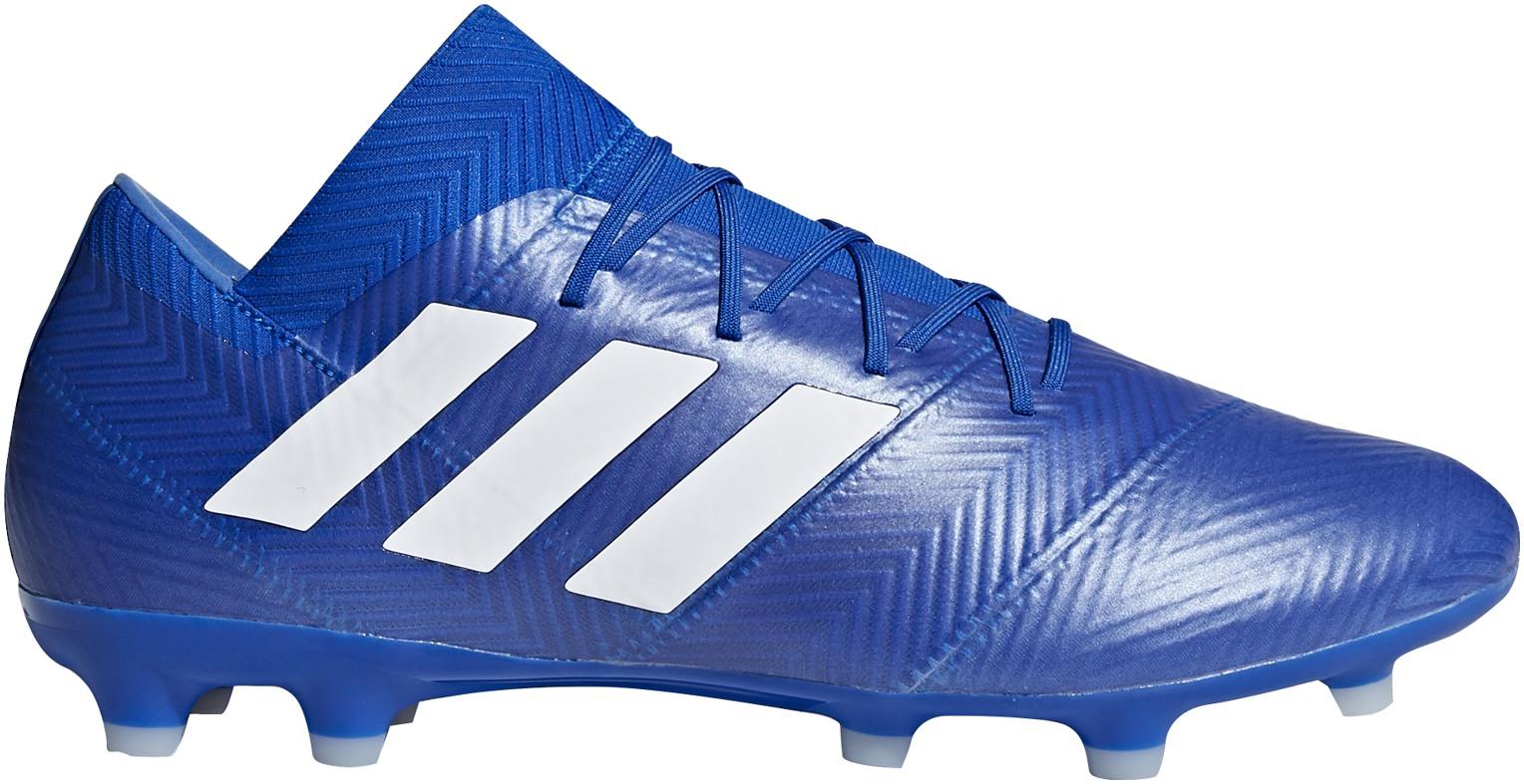 Kopačky lisovky adidas NEMEZIZ 18.2 FG modré  d7aadbccf62