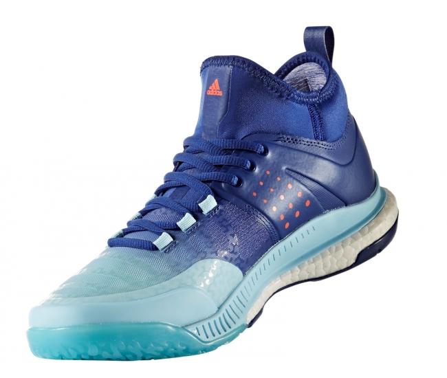 Dámské volejbalové boty adidas CRAZYFLIGHT X MID W modré ...