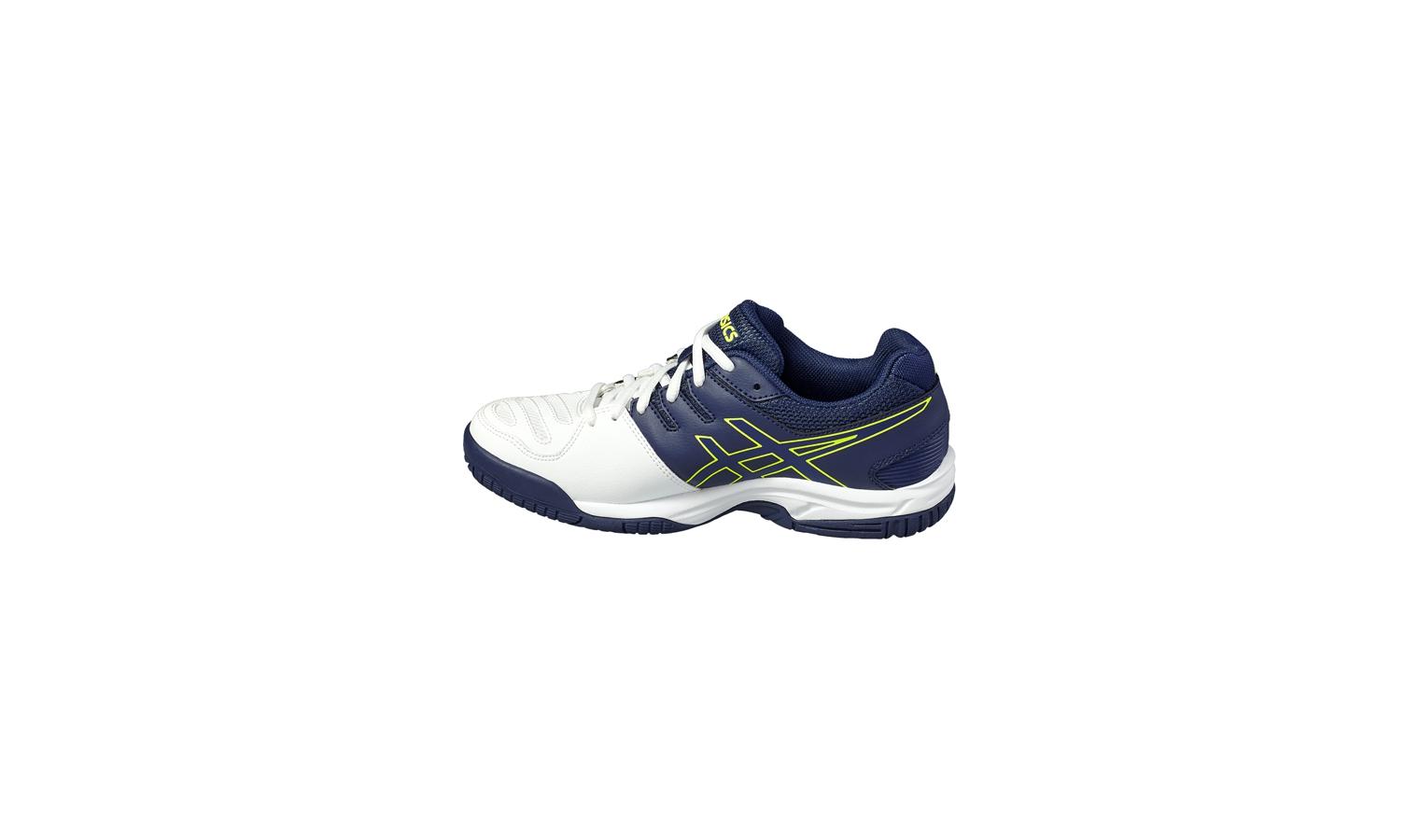 Dětské tenisové boty Asics GEL-GAME 5 GS modro-bílé  efe59dd66c