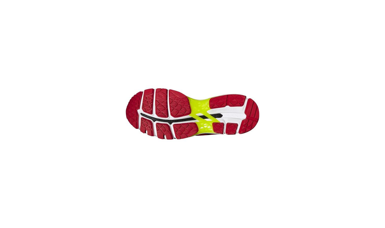 Pánské běžecké boty Asics GEL-KAYANO 22 červené  a10b8feafc