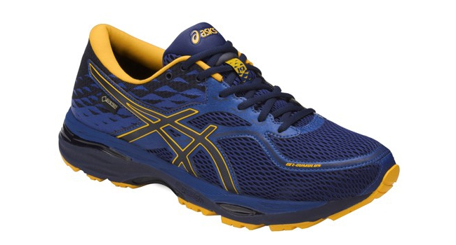 Pánské běžecké boty Asics GEL-CUMULUS 19 G-TX modré  d6a1565ae2