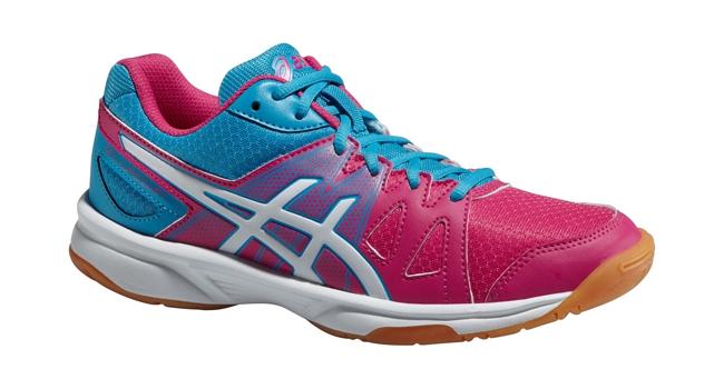 Dětské sálové boty Asics GEL-UPCOURT GS modré růžové  787c6a87c7