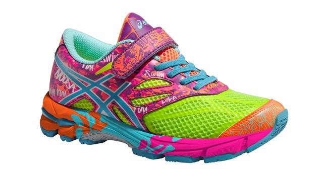 82f9d574af4 Dětské běžecké boty Asics GEL-NOOSA TRI 10 PS žluté tyrkysové růžové ...