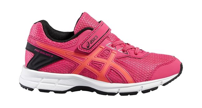 Dětské běžecké boty Asics PRE GALAXY 9 PS růžové  b13a9e402b
