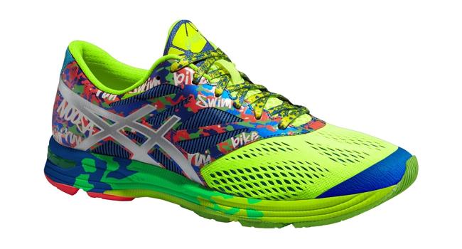 Pánské běžecké boty Asics GEL-NOOSA TRI 10 žluté modré šedé  b7621a951a