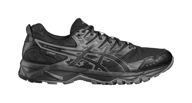 Pánské běžecké boty Asics GEL-SONOMA 3 G-TX černé  922bf8cdcd4