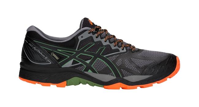 Pánské běžecké boty Asics GEL-FUJITRABUCO 6 G-TX zelené  42b0335514e