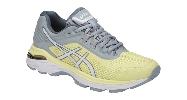 Dámské běžecké boty Asics GT-2000 6 W žluto-šedé  6eaceea248