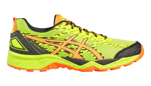 Pánské běžecké boty Asics GEL-FUJITRABUCO 5 žluté  8351c36c3bb