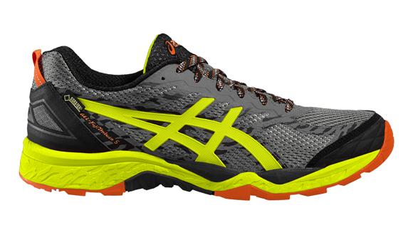 83d5af62c43 Pánské trailové boty Asics GEL-FUJITRABUCO 5 G-TX šedé