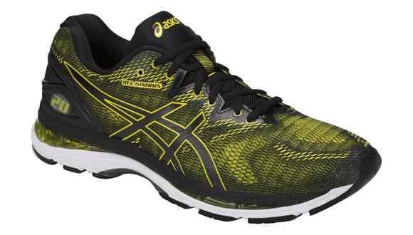 Pánské běžecké boty Asics GEL-NIMBUS 20 žluto-černé  9dcb56d0b70