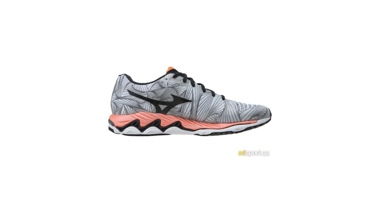 ... Pánské běžecké boty Mizuno WAVE PARADOX šedé   oranžové. Sleva a004eabb7e7