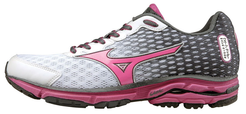 Dámské běžecké boty Mizuno WAVE RIDER 18 šedé   růžové  08ea98460a