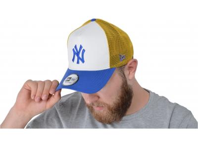9FORTY A-FRAME TRUCKER MLB LT WT NYLON NEW YORK YANKEES