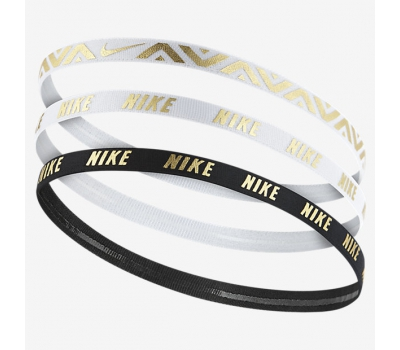 Nike METALLIC HAIRBANDS 3 PACK W