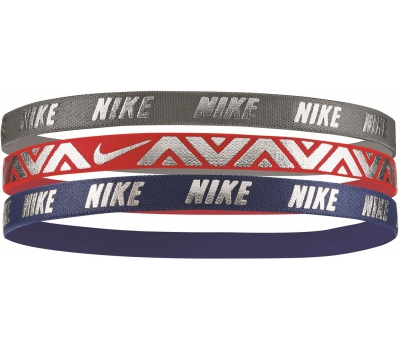 Nike METALLIC HAIRBANDS 3 PACK