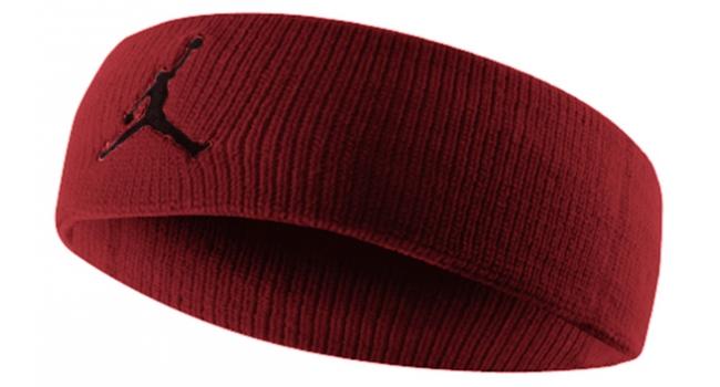 Pánská čelenka Nike JORDAN JUMPMAN HEADBAND červená  5ddd1bd099