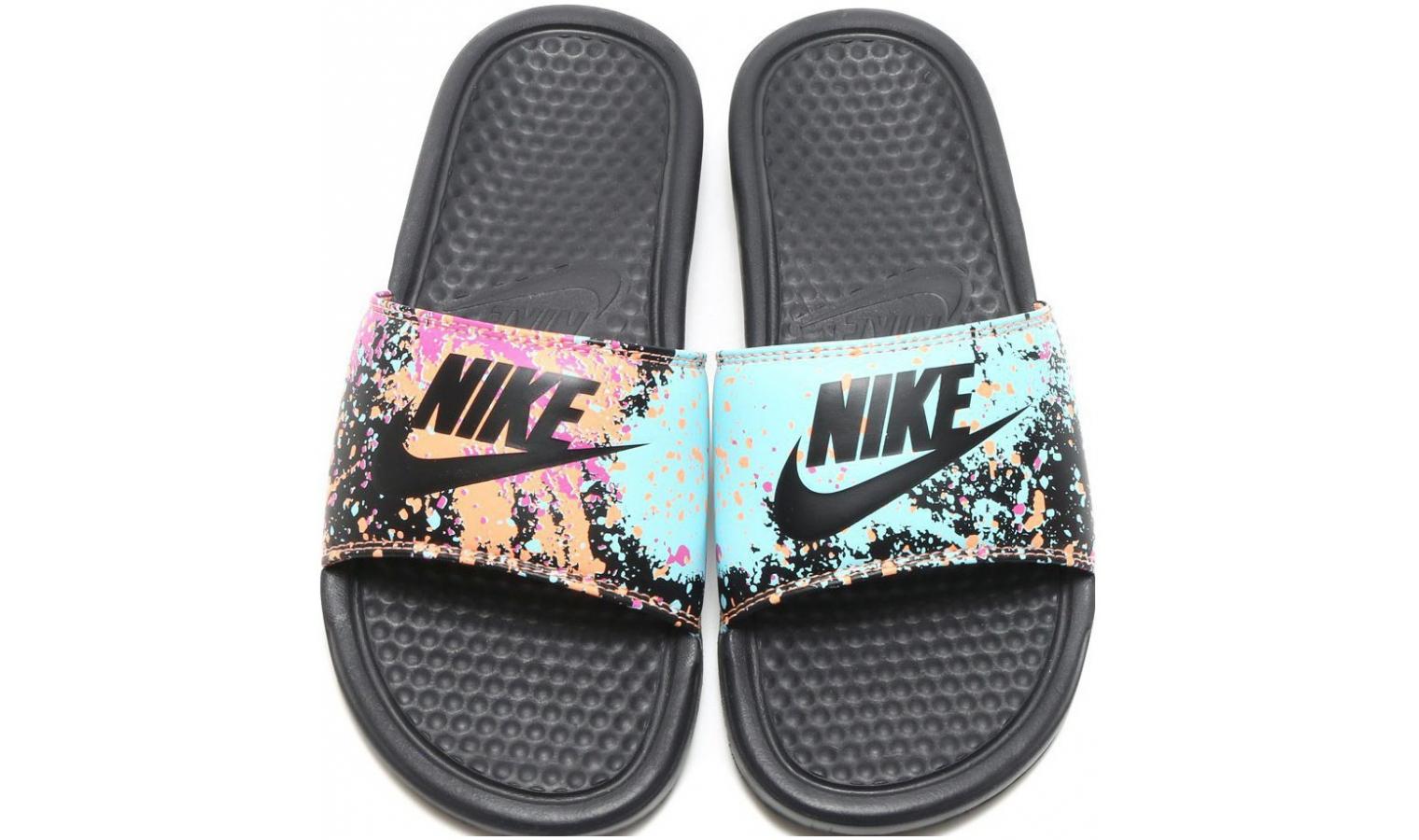 556fd5b68b Dámské nazouváky Nike BENASSI JUST DO IT W černé