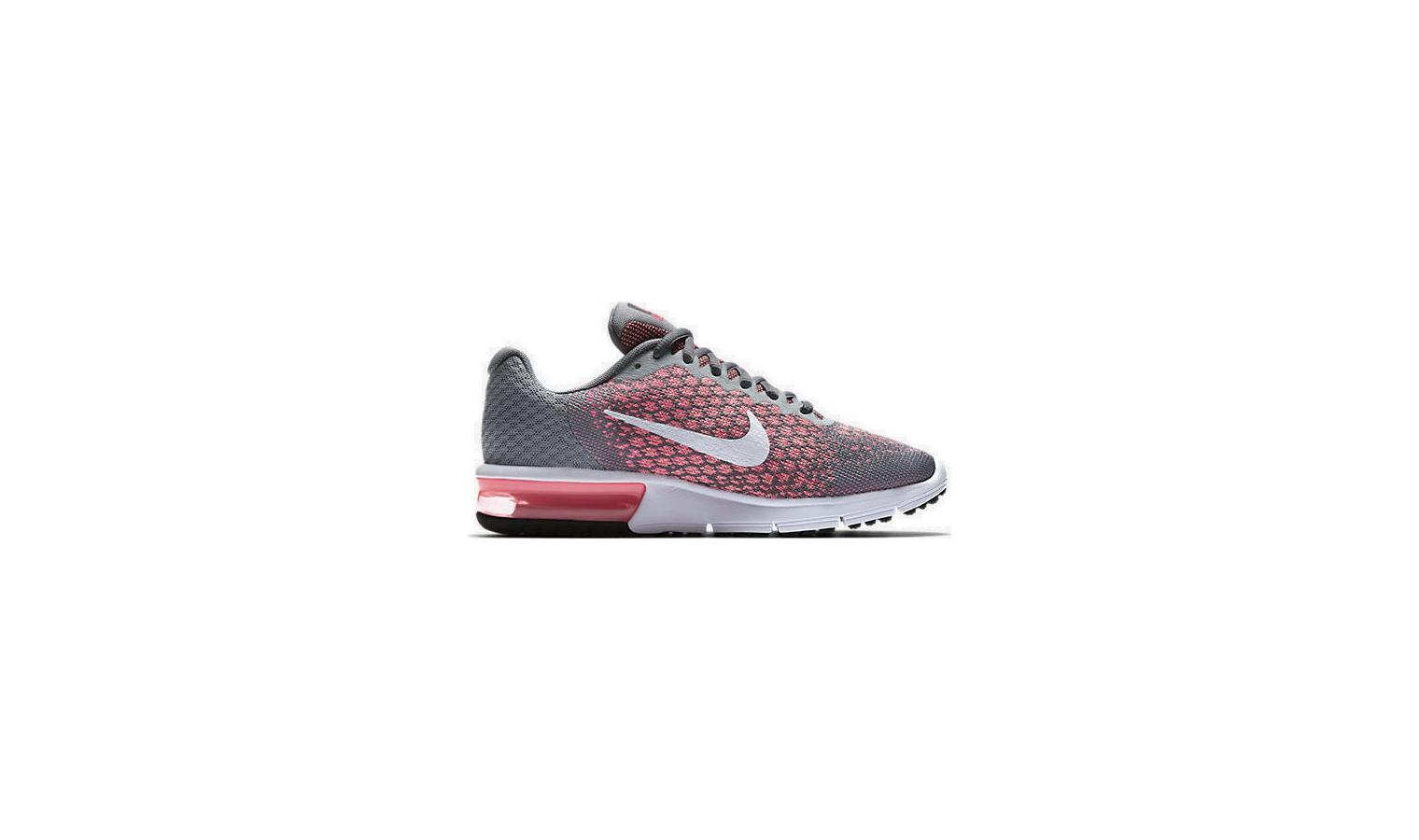 Dámské boty Nike AIR MAX SEQUENT 2 W šedo-růžové  7a4f97594fb