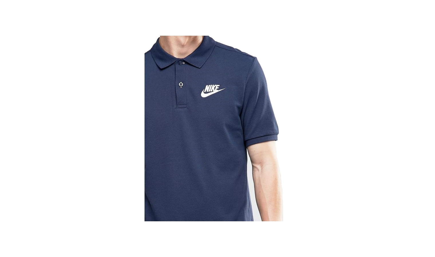 Pánské tričko Nike POLO PQ MATCHUP modré  9583cd8201c