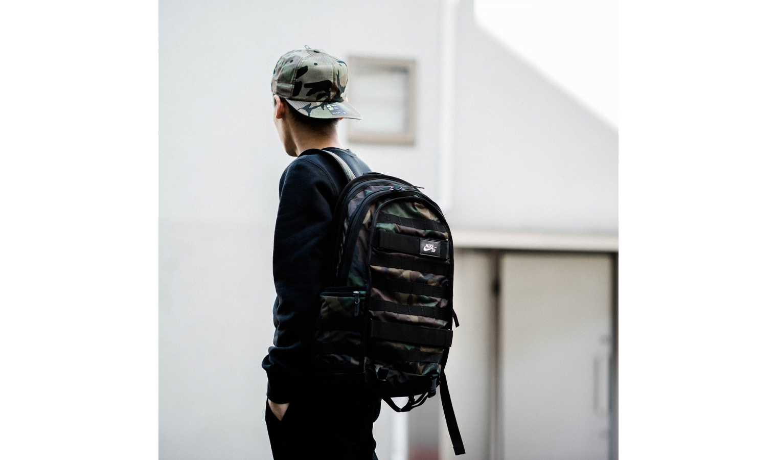 2b45516fd7 ... Pánský batoh Nike SB RPM GRAPHIC zelený. 0 Kč