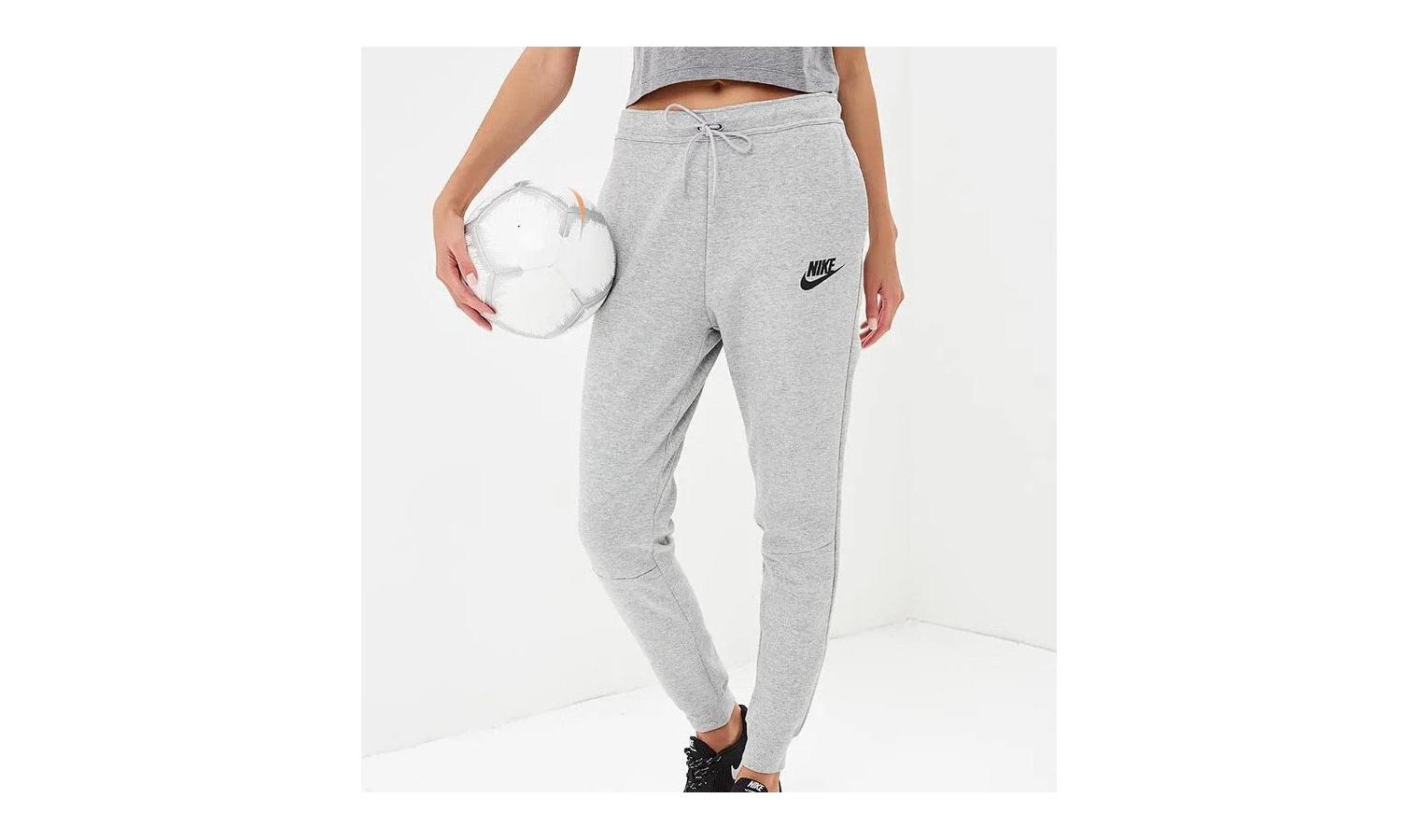 Dámské tepláky Nike NSW AV15 PANT W šedé | AD Sport.cz