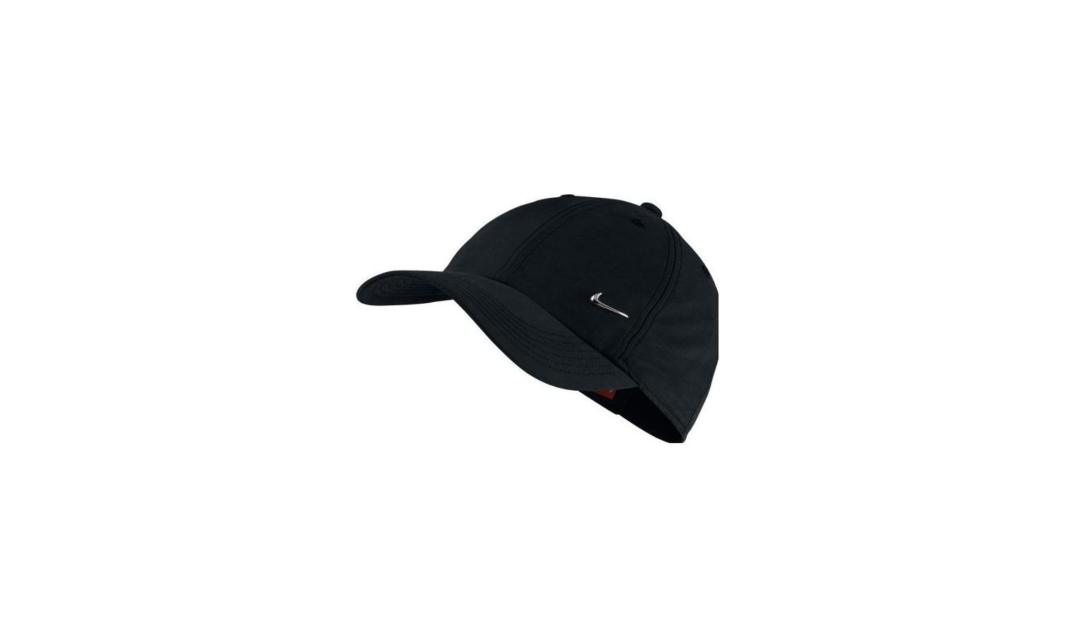 f0b533358e1 Dětská kšiltovka Nike YA HERITAGE 86 SWOOSH AD černá
