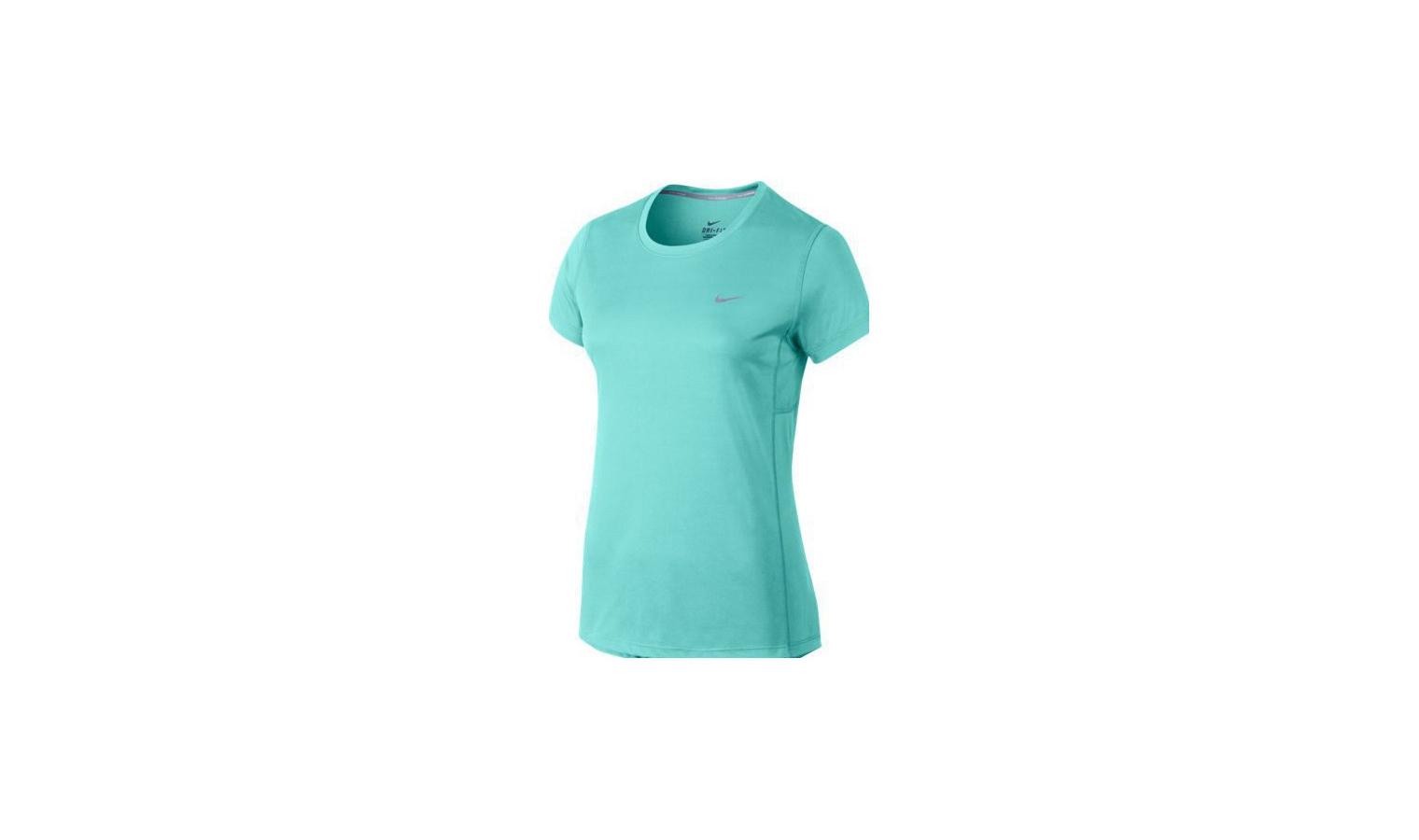 6aa5fe383f Dámské běžecké tričko Nike MILER modré
