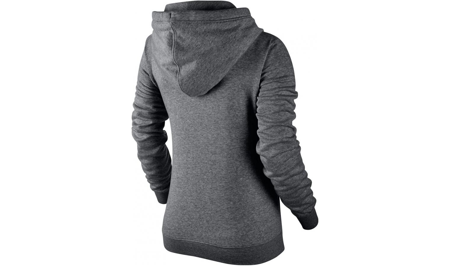 2df7c0f6dc0e Dámská mikina Nike WOMEN S NIKE SPORTSWEAR FUNNEL-NECK HOODIE W šedá ...