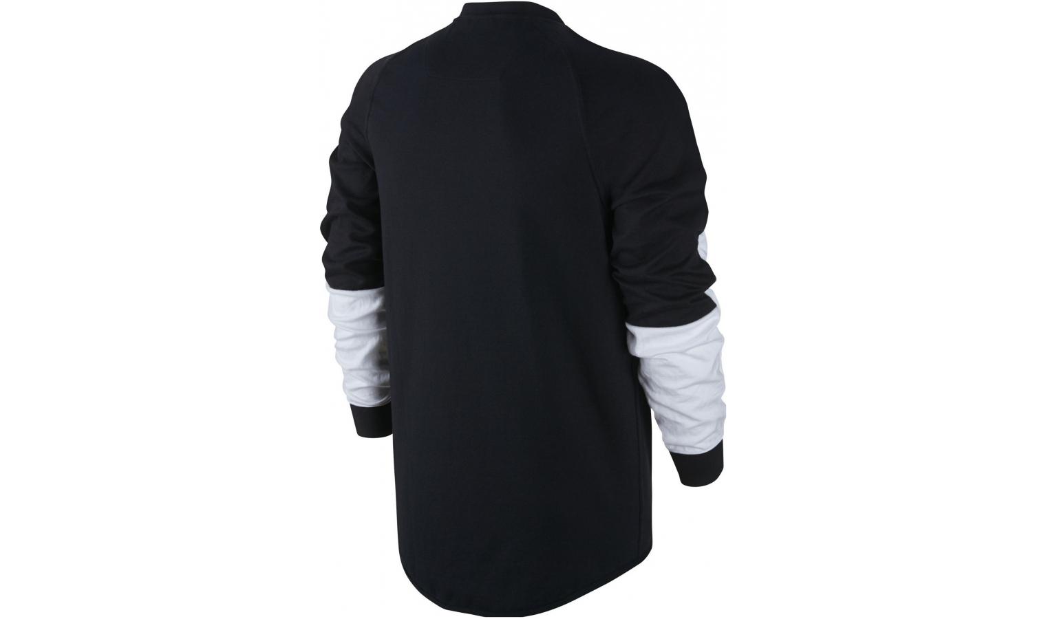 Pánská mikina Nike SPORTSWEAR ADVANCE 15 CREW černá  7a40e47f0f