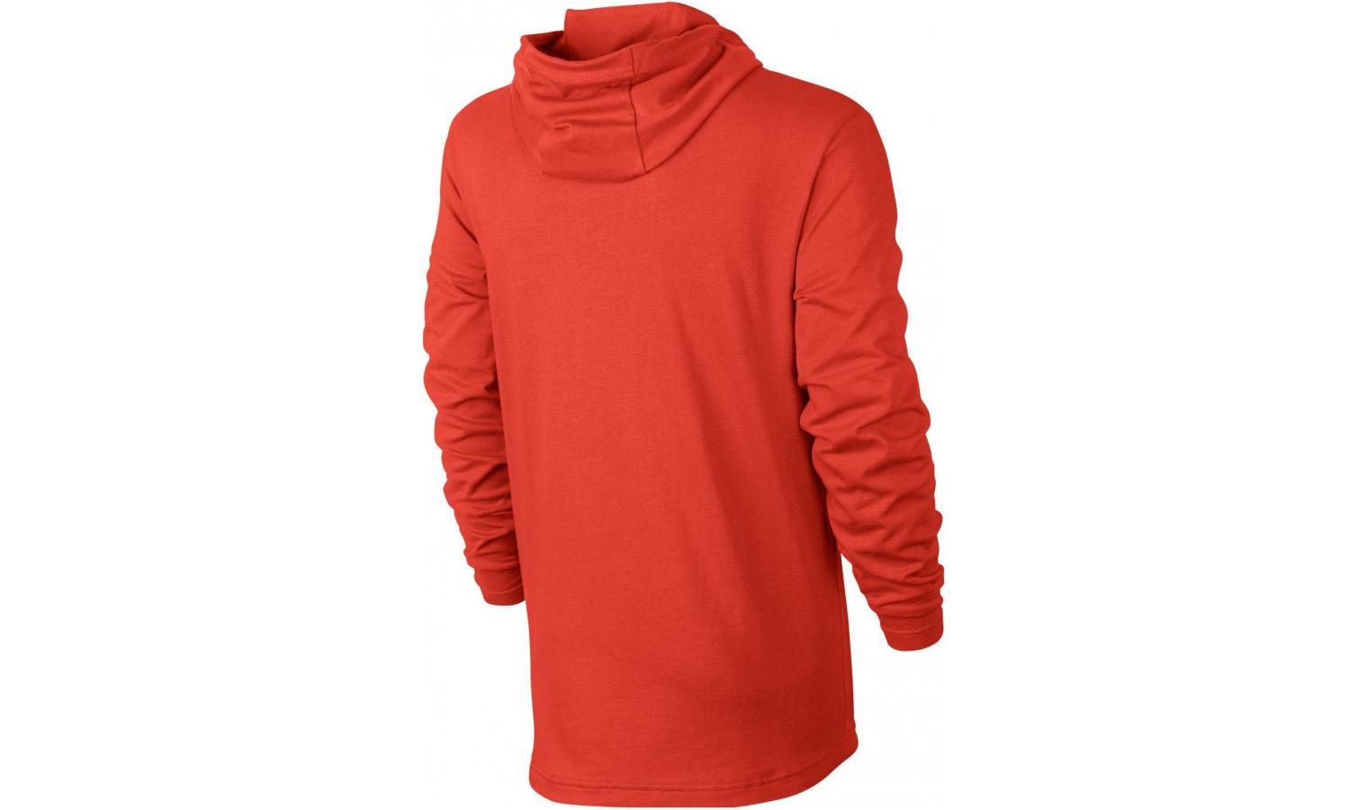 Pánská mikina Nike M HOODIE PO JSY CLUB červená  098efebc73b