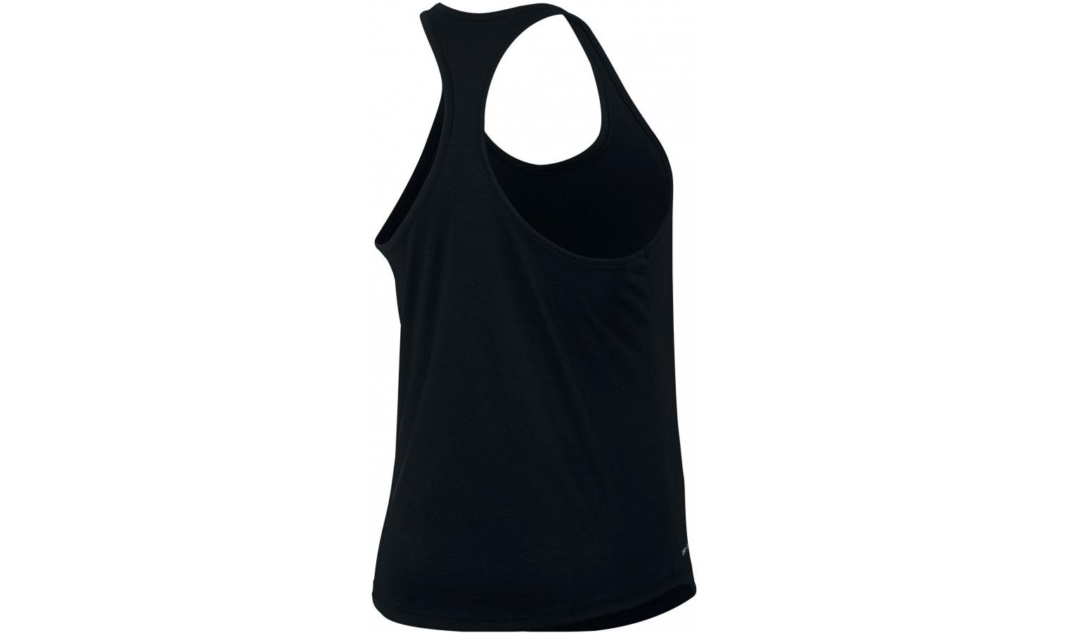 Dámské běžecké tričko Nike W NK DRY TANK DBL SWOOSH W černé  1d3e25dc4e