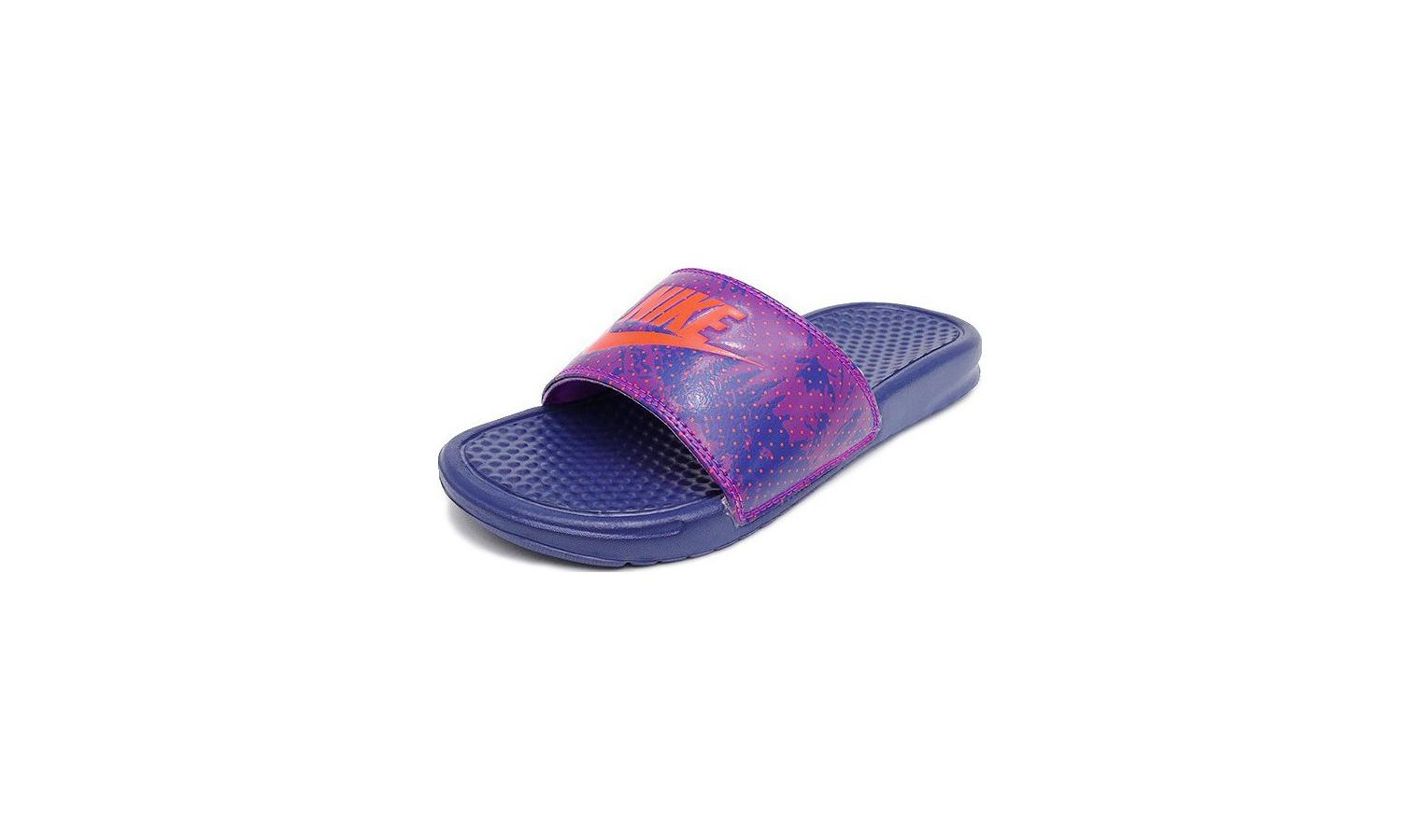 Dámské pantofle Nike BENASSI JUST DO IT modré  c747a4f2f76