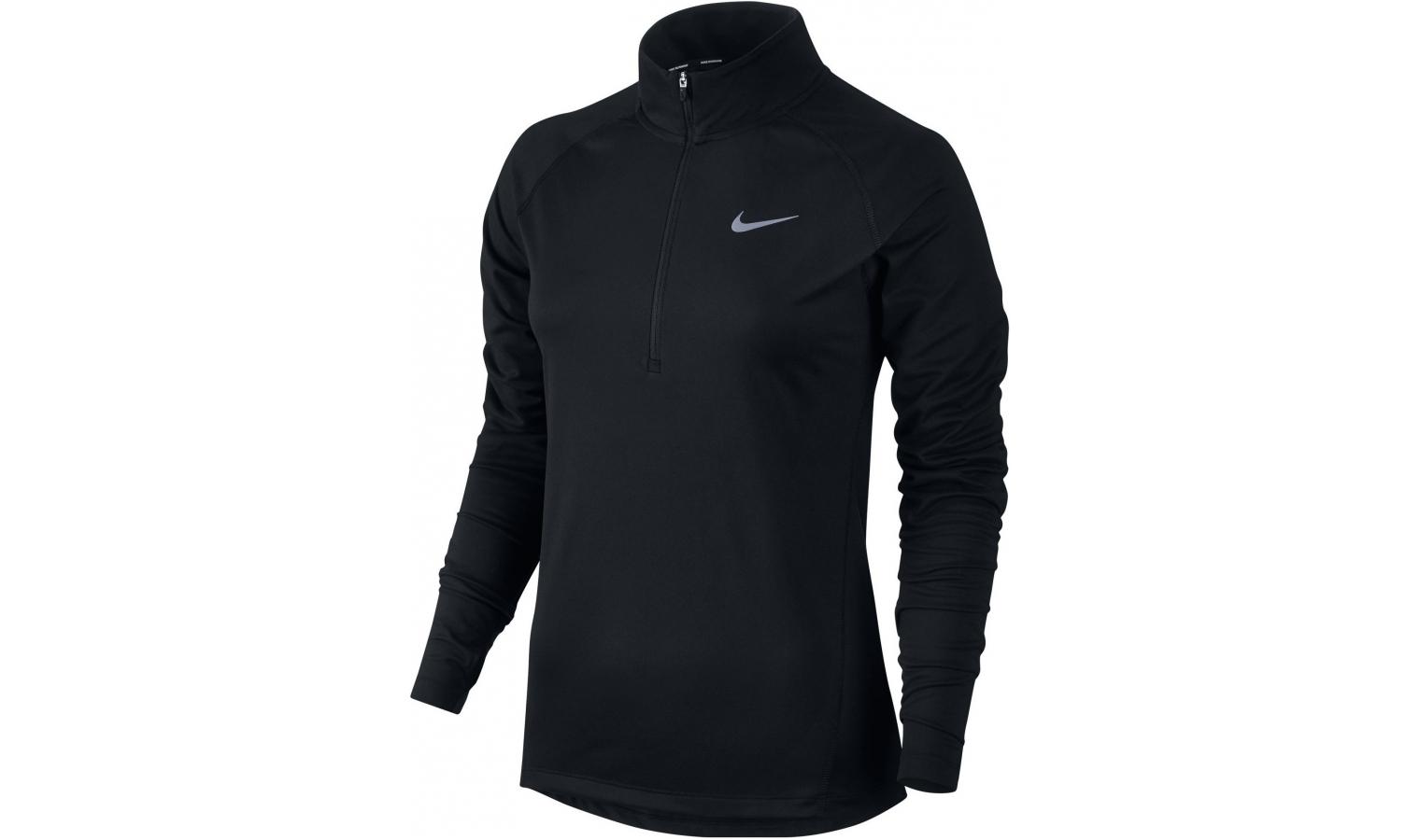Dámská funkční mikina Nike TOP CORE HZ MID W černá  45713ce2c1