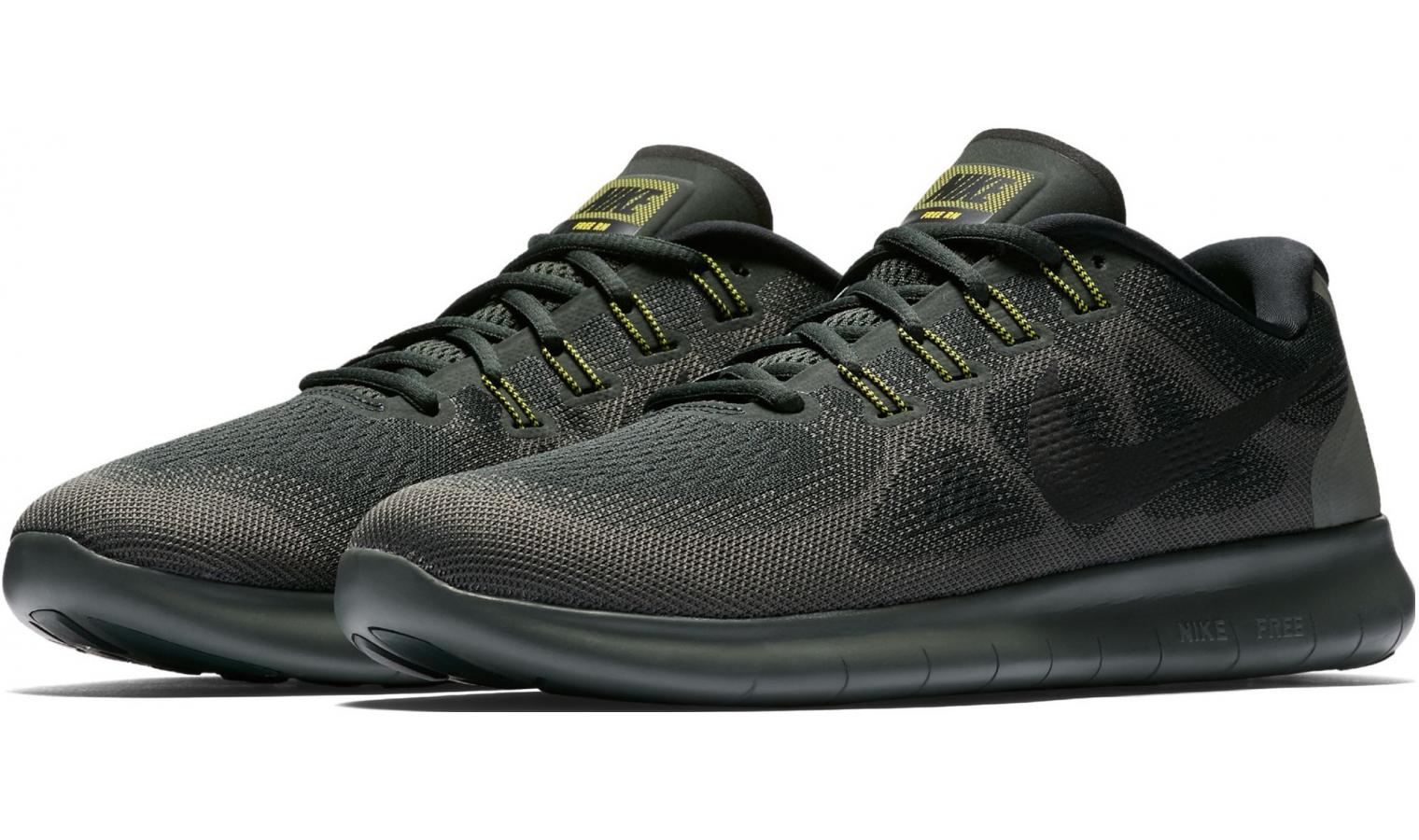 5589668b2a1 Pánské běžecké boty Nike FREE RN 2017 černé