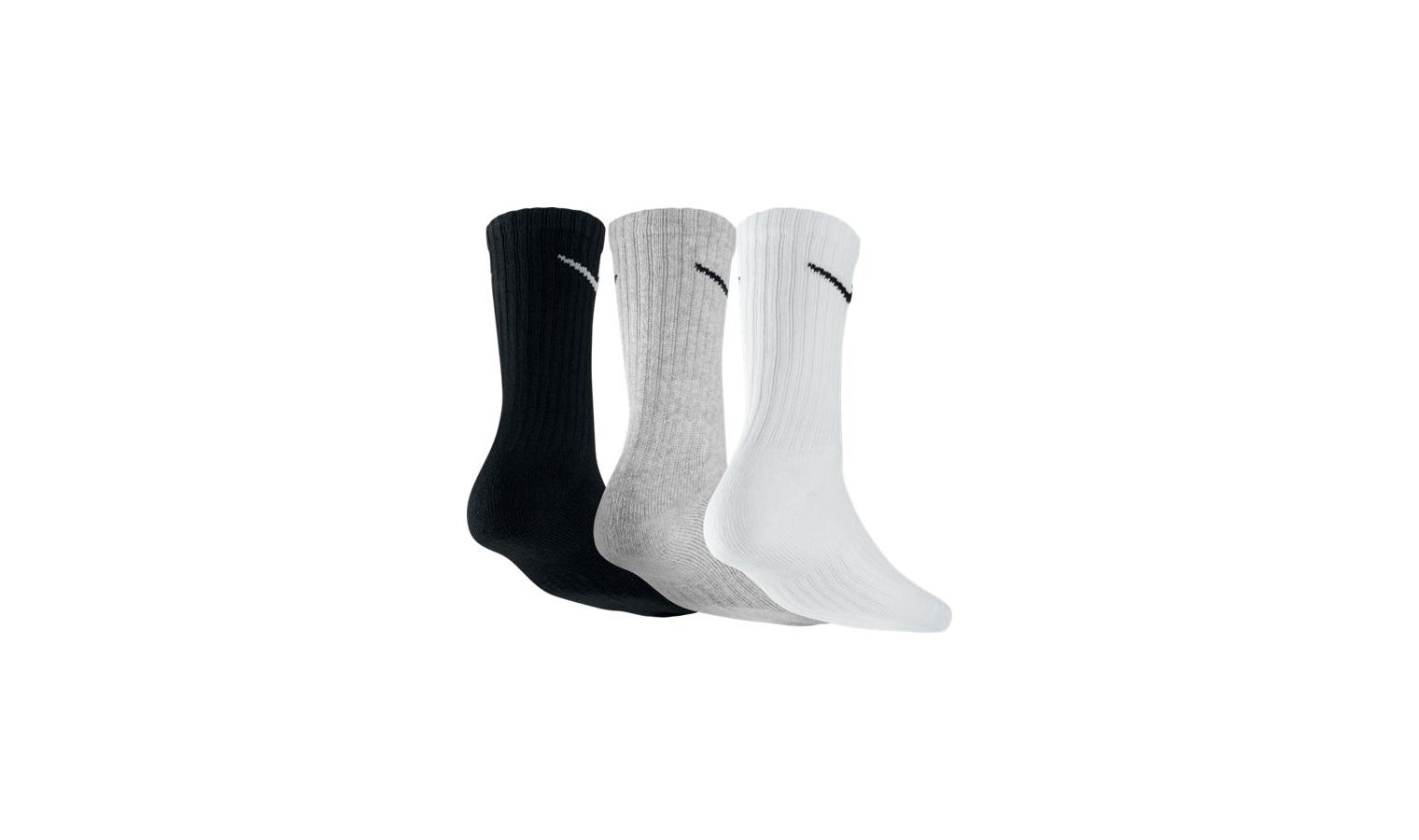 87c2968e397 Ponožky Nike 3PPK VALUE COTTON CREW trikolóra